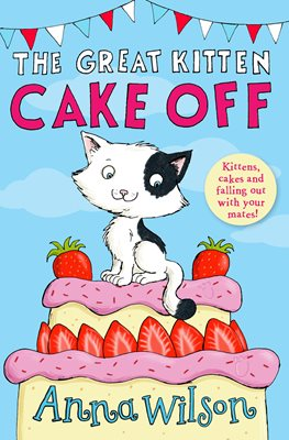 Book cover for The Great Kitten Cake Off